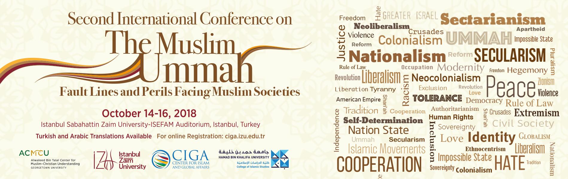 CIGA 2. Muslim Ummah Conference Web Banner