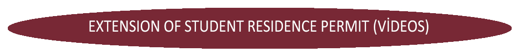 EXTENSION OF STUDENT RESIDENCE PERMIT